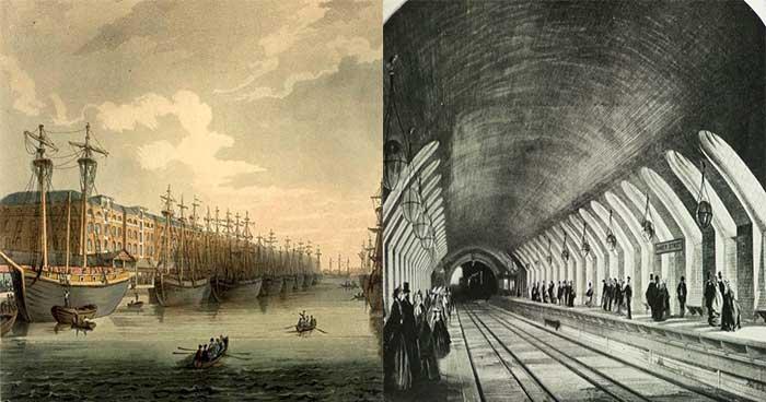 대동여지도가 나오기 전, 영국에서 발명한 터널의 정체
