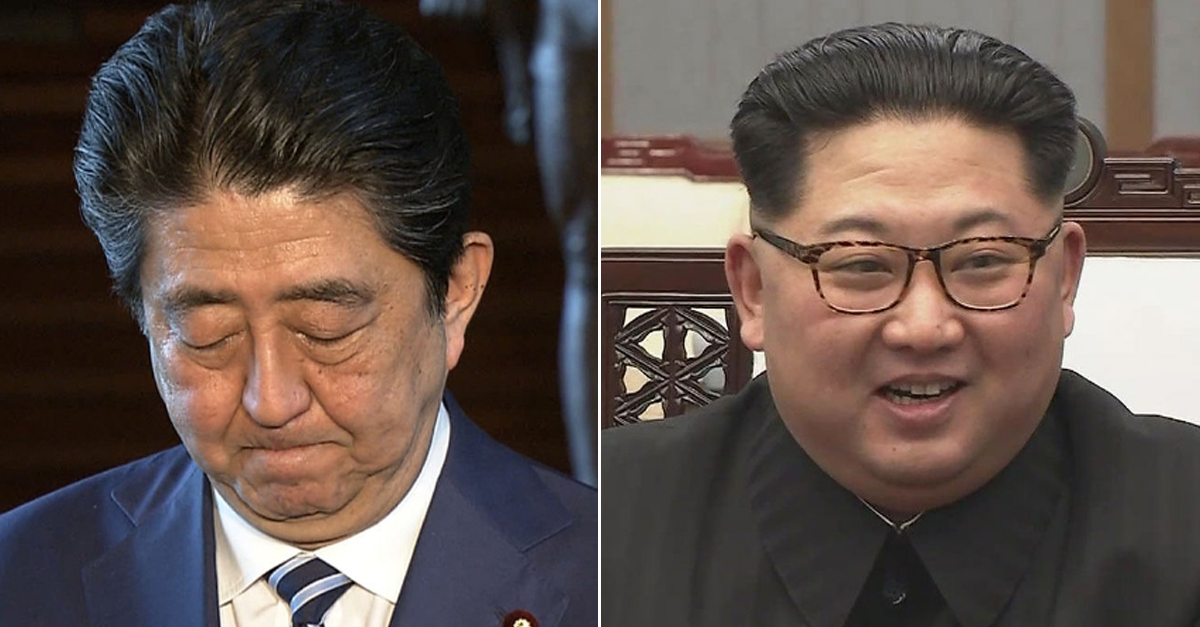 끈질기게 '정상회담' 요청하는 일본에게 '북한'이 날린 한 마디
