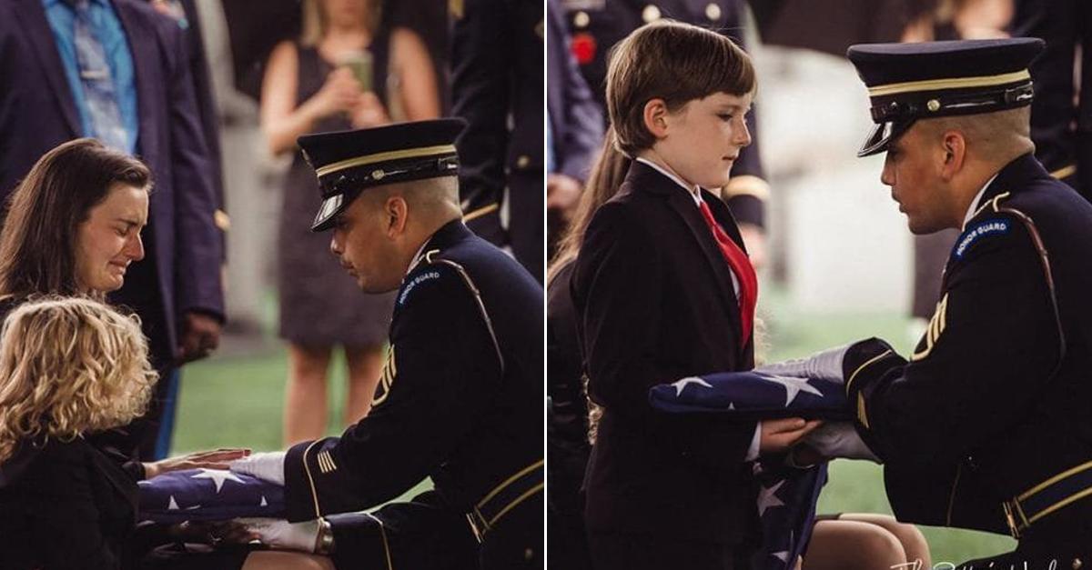 암으로 세상 떠난 아빠 묘지 앞에서 아이들이 누운 이유