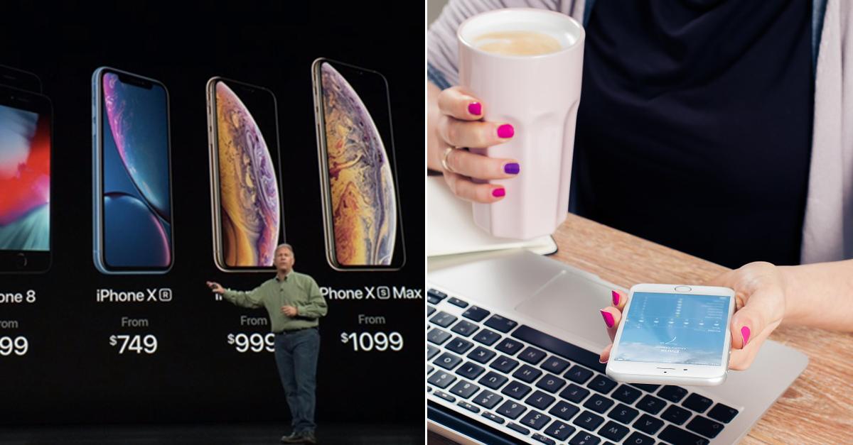 '페미'들이 새로 출시된 '아이폰XS'에 항의하고 있는 이유