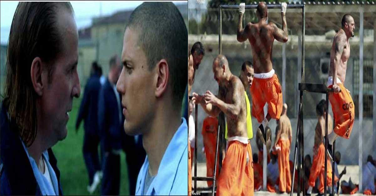 미국 교도소 죄수들 몸이 좋은 진짜 이유 ㄷㄷㄷ
