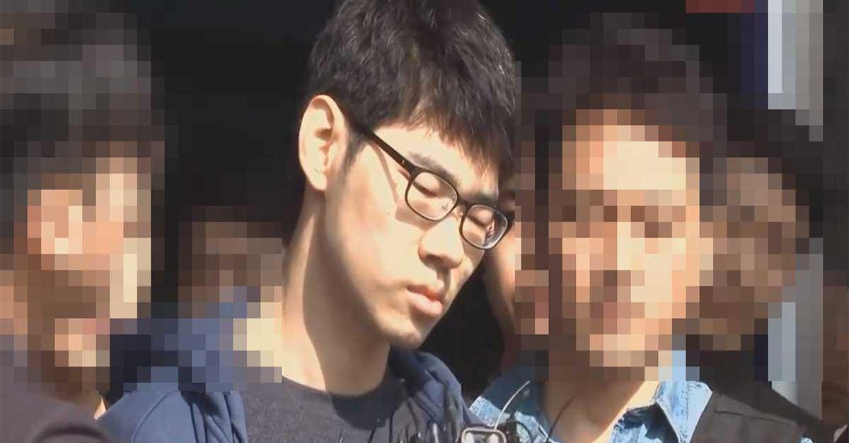 오늘 오전 '얼굴 공개'된 강서구 PC방 사건 범인