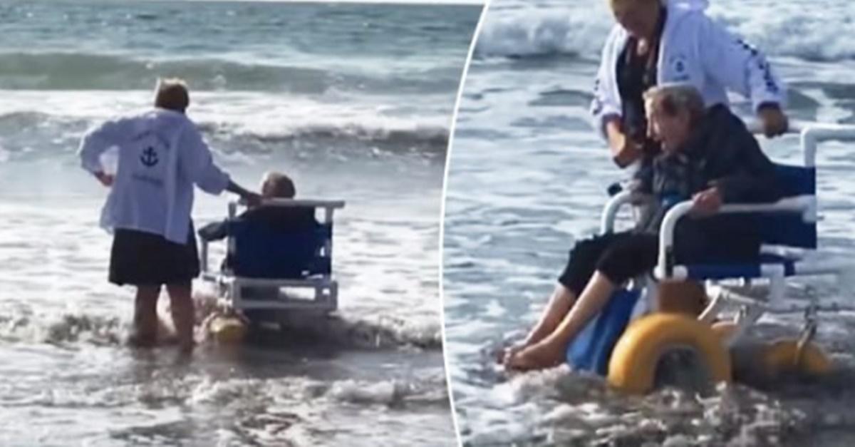 '90살' 할머니가 태어나 처음 바다를 보고 한 말