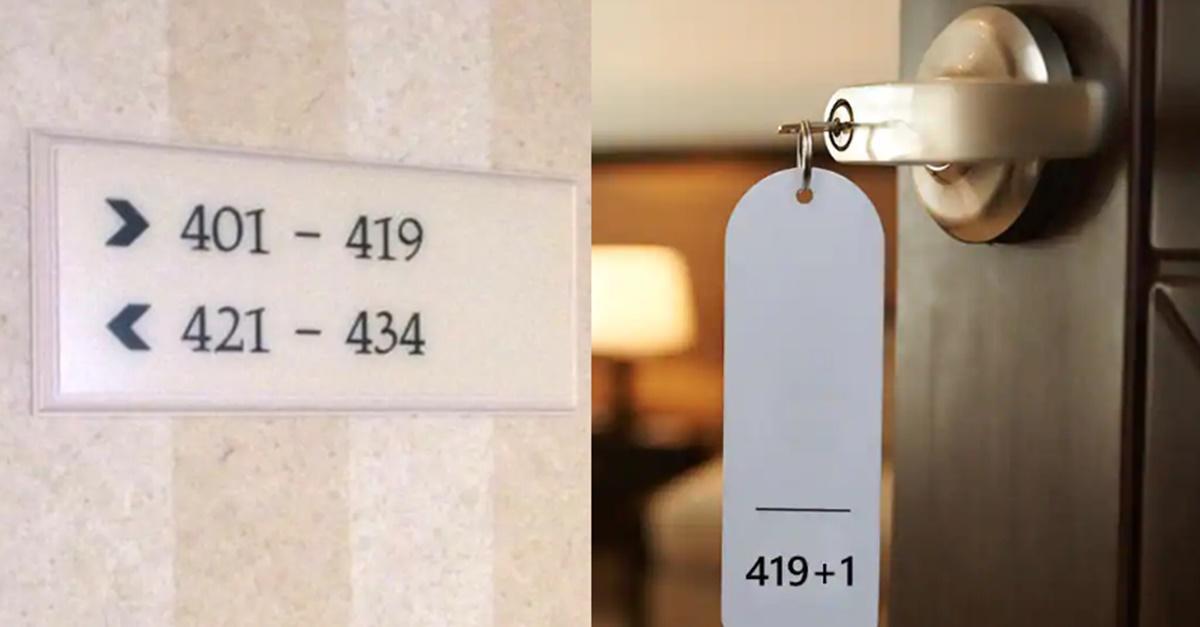 전세계 많은 호텔에 420호가 없는 진짜 이유
