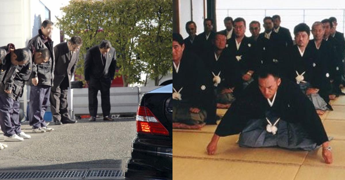 올림픽 앞두고 일본 '야쿠자'들이 자제하고 있다는 행동