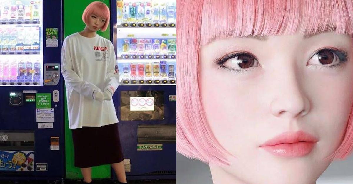 현재 일본에서 난리 난 패션 모델 여성의 반전 정체