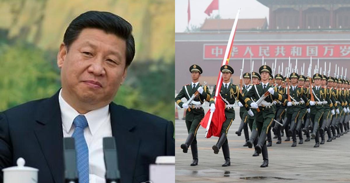 시진핑이 미국한테 빡쳐서 중국 군대에 내렸던 지시