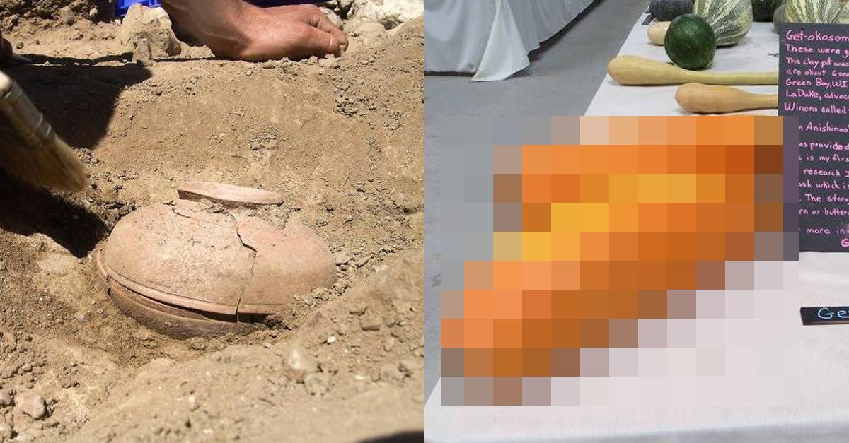 땅에 묻혀있던 800년 전, 토기 안에서 발견된 물건ㄷㄷ