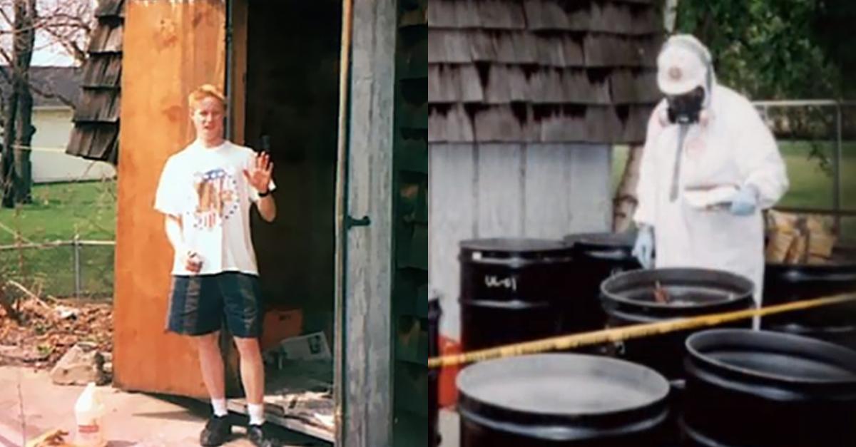 17세 소년이 집에 핵 원자로 만들었다가 생긴 일
