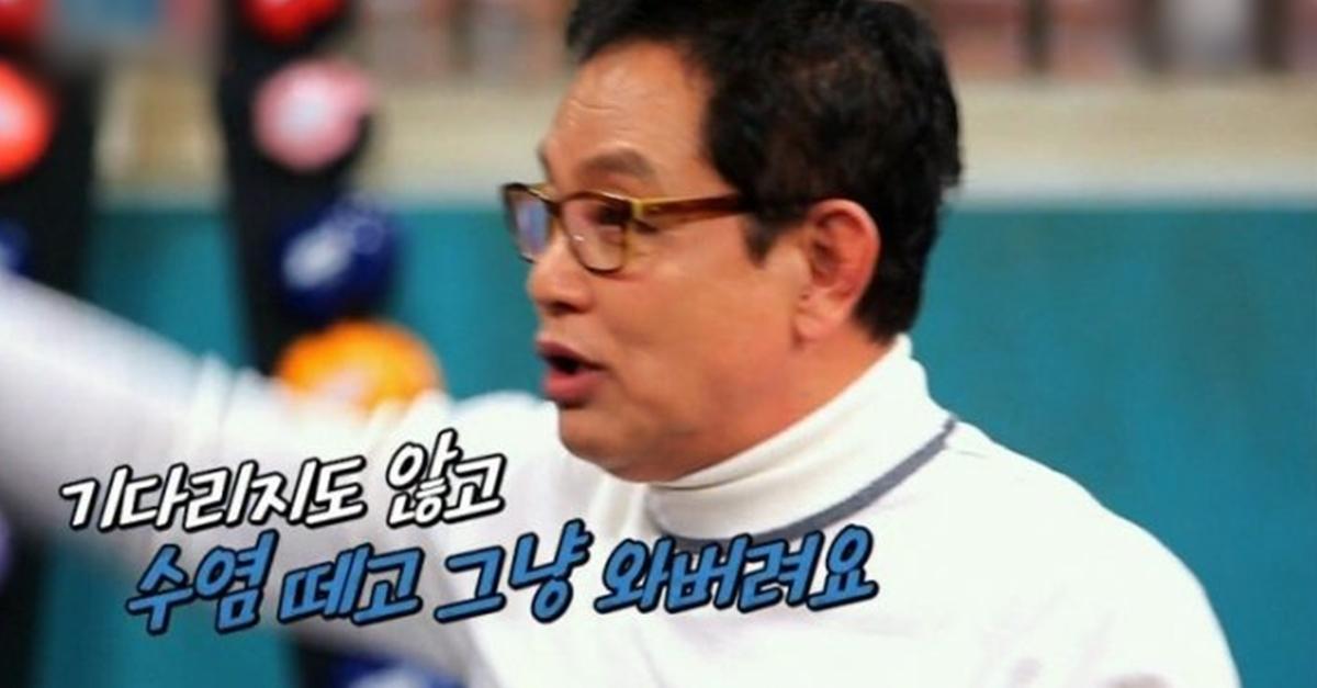 1등으로 촬영 안하면 가버렸다는 김영철을 바꿔준 배우