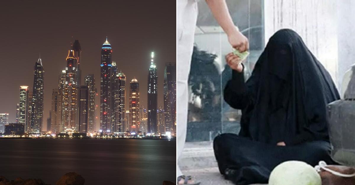 두바이에서 구걸하면 벌어들이는 수익 ㄷㄷㄷ
