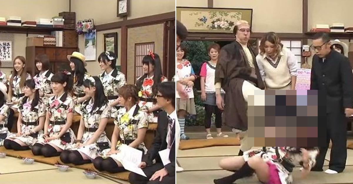 아무리 유명 걸그룹이라도 일본 예능에서 당하는 일