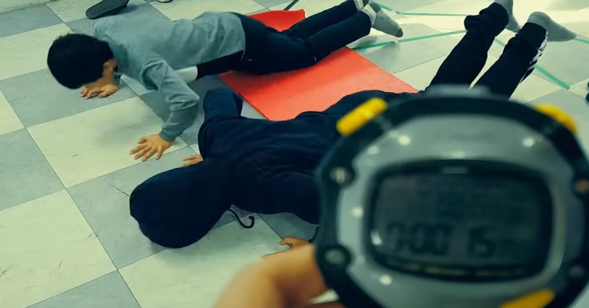 '여경 체력 시험'을 초등학생들에게 시켜 본 결과