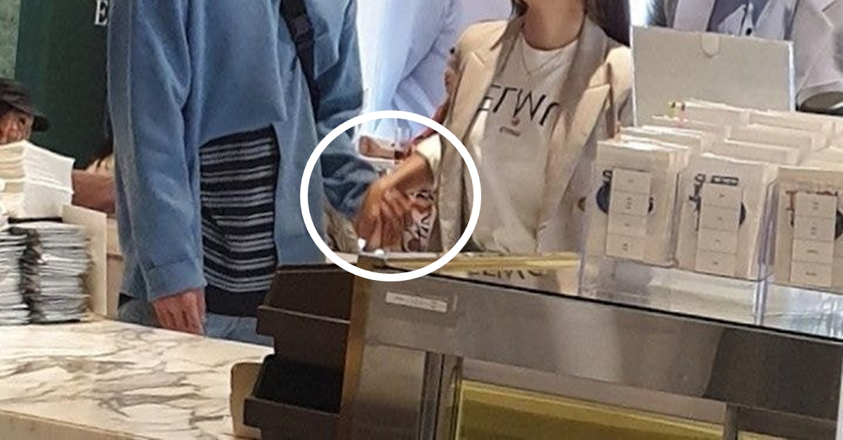 '나혼자산다' 촬영장에서 손잡고 있는 모습 포착된 SM 아이돌