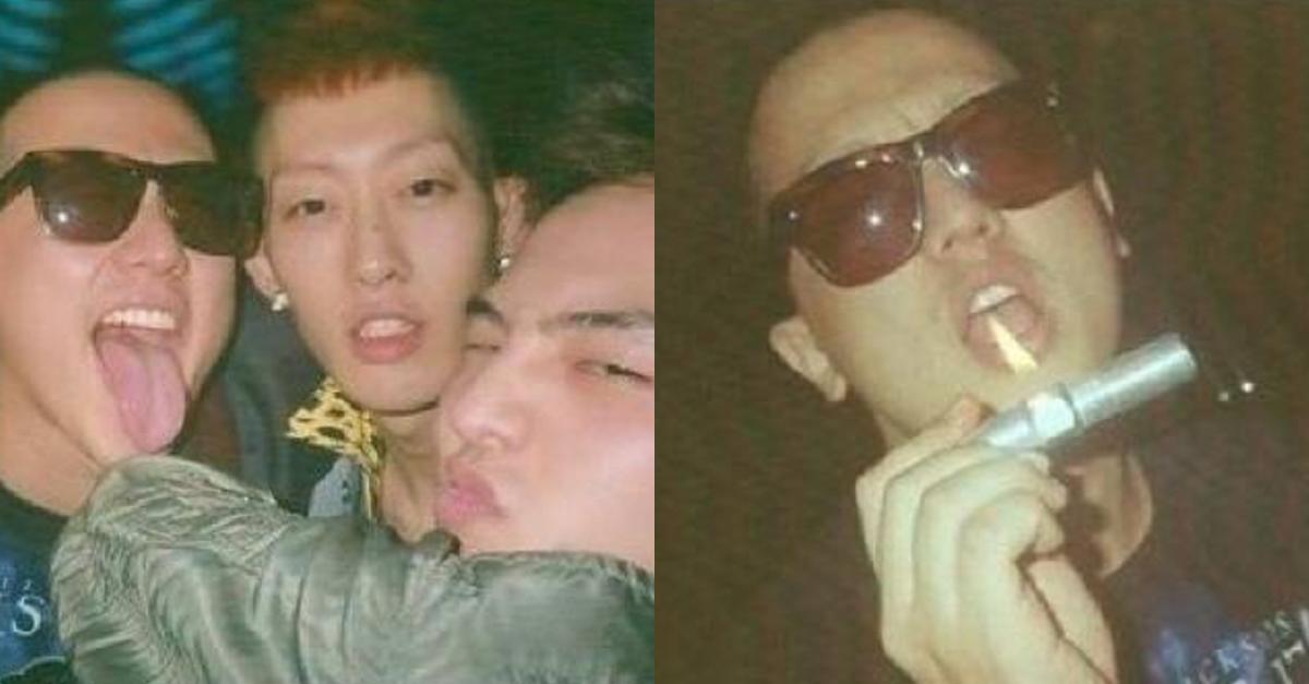 과거에 유출됐던 YG 소속사 파티 사진들.JPG