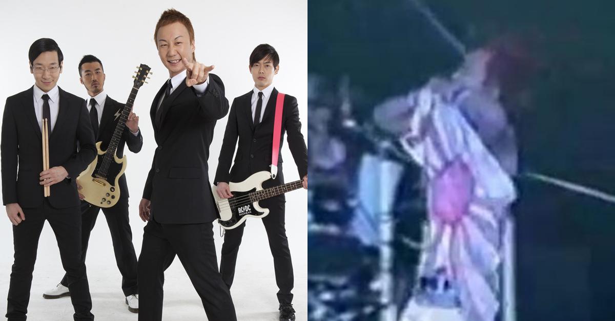 노브레인이 일본 공연에서 전범기 찢자 생긴 일