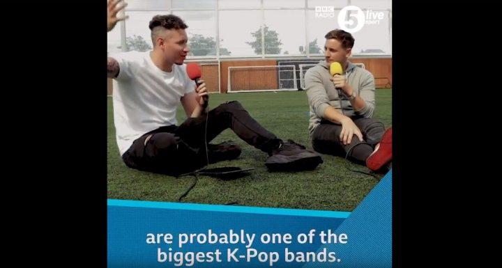 영국 기자가 손흥민에게 BTS 아냐고 물어봤을 때 반응