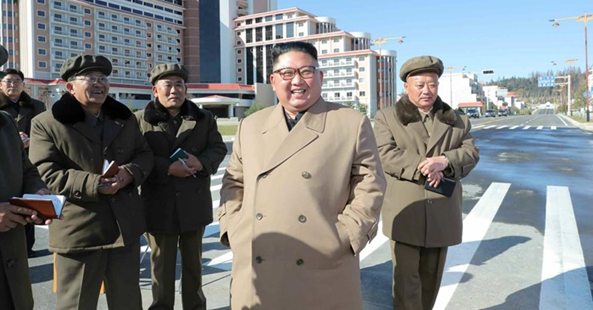 북한에 첫눈 오던 날, 김정은이 했던 황당한 행동