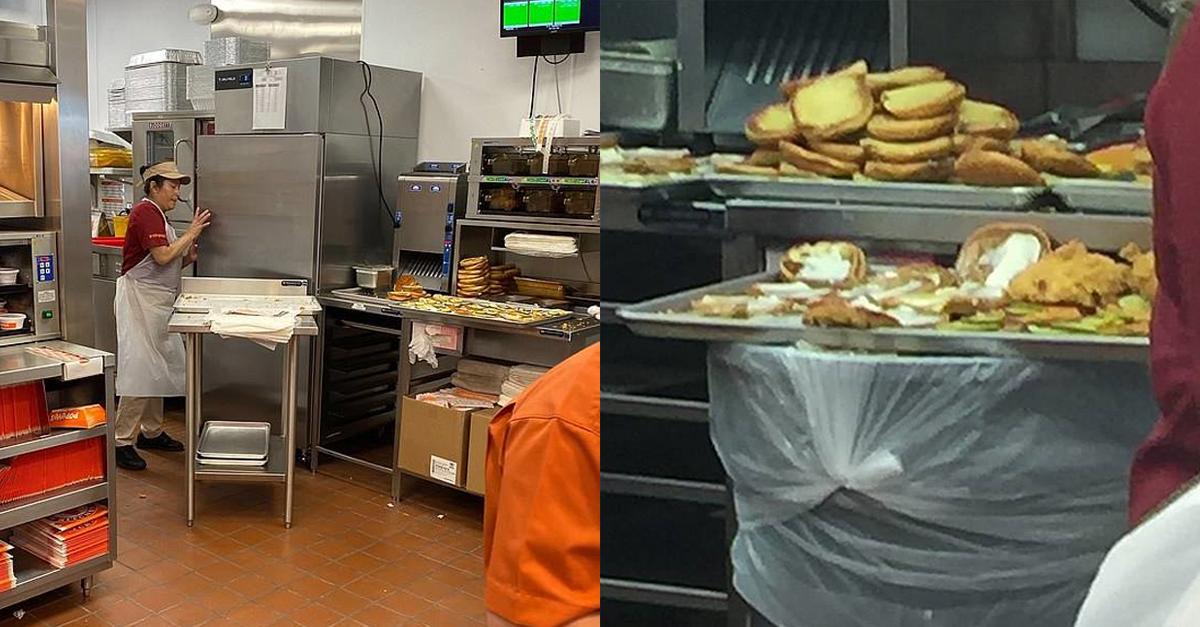 쓰레기통에서 음식 만들다 딱 걸린 유명 음식점...