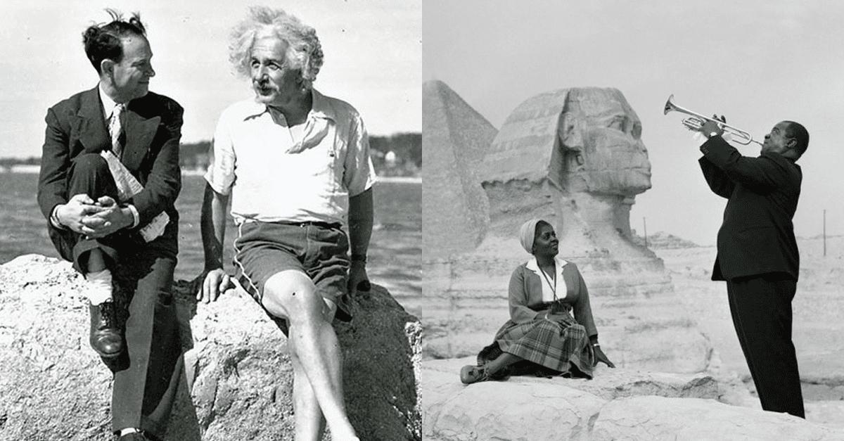 실제 역사의 한 순간이 포착된 사진들
