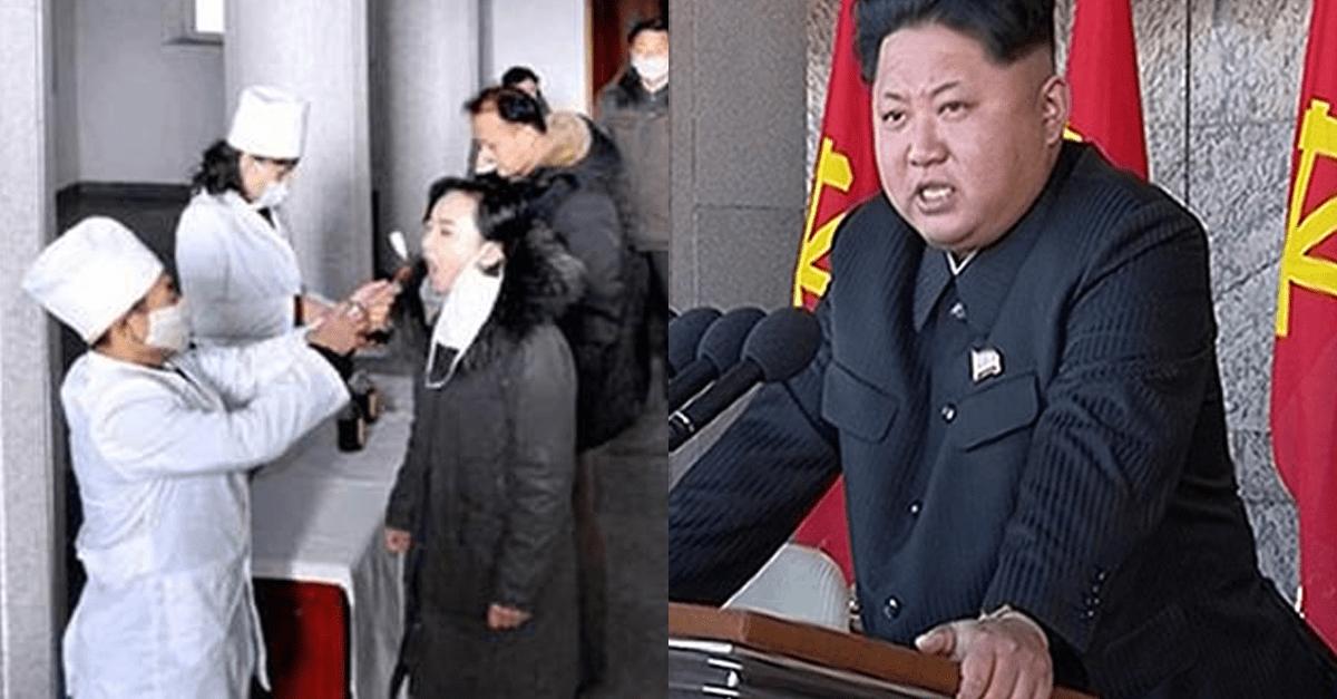 현재 북한에서 '코로나 확진' 받으면 당하는 일