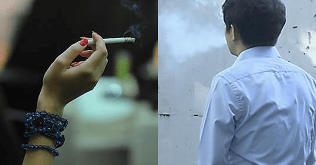 길거리에서 담배 왜 피냐했더니 흡연자들 반응