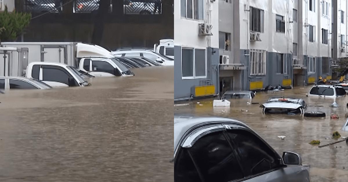엄청 심각하다는 '대전' 폭우 상황