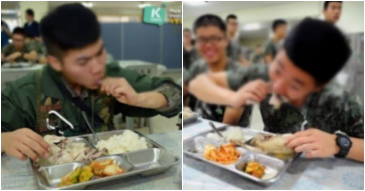 삼계탕 먹는 군인 사진에 일부 여성들 반응
