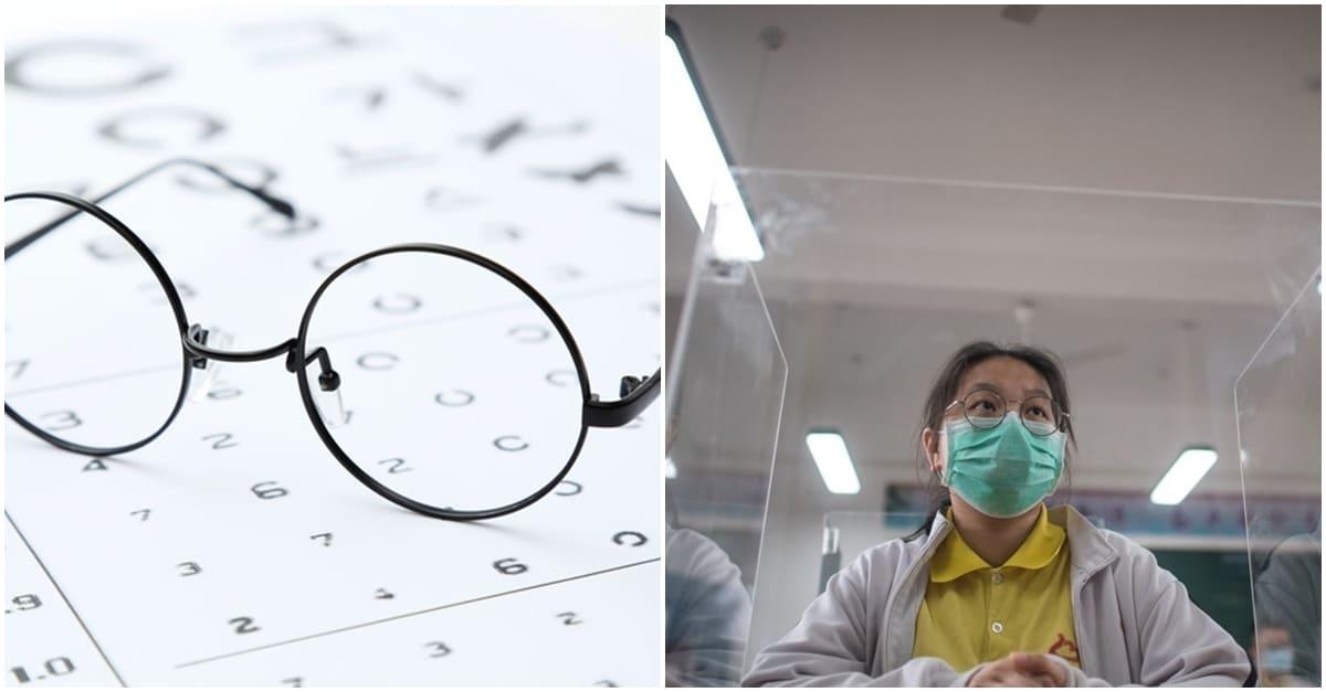 안경끼는 사람들은 '코로나 감염 위험'이 낮다는 이유