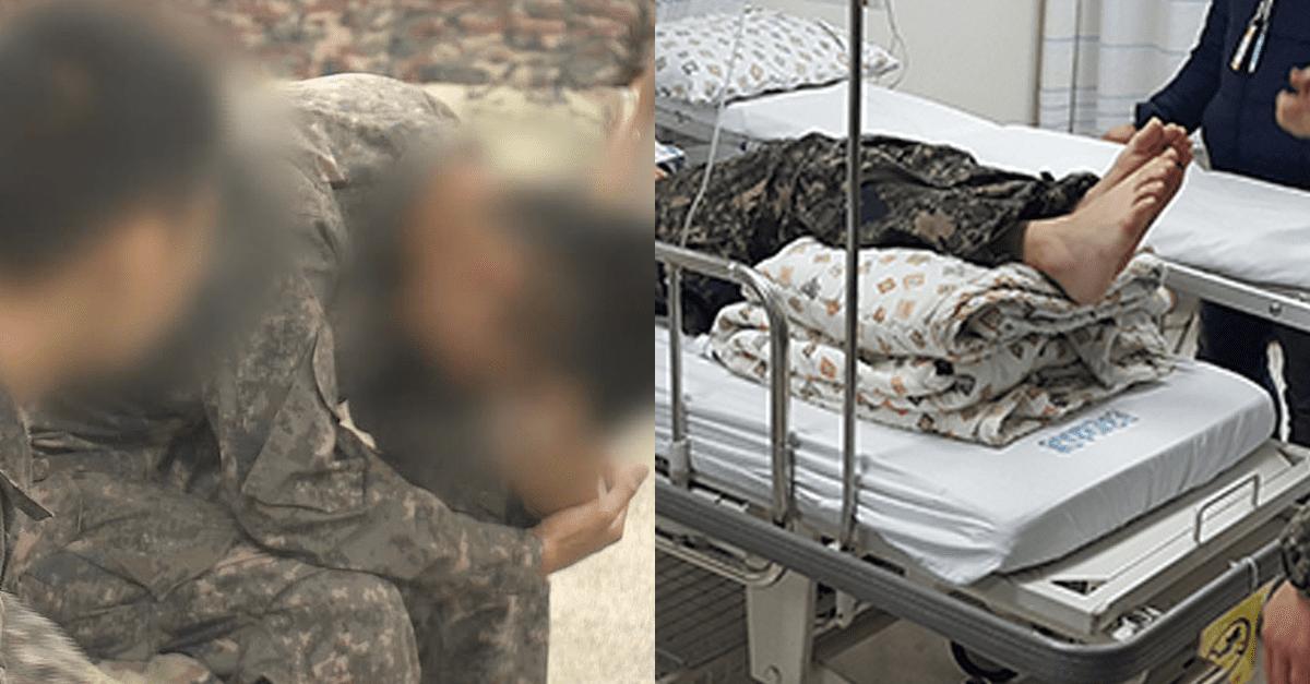 뇌출혈 증세 보이던 병사가 '군 병원'에 갔더니..