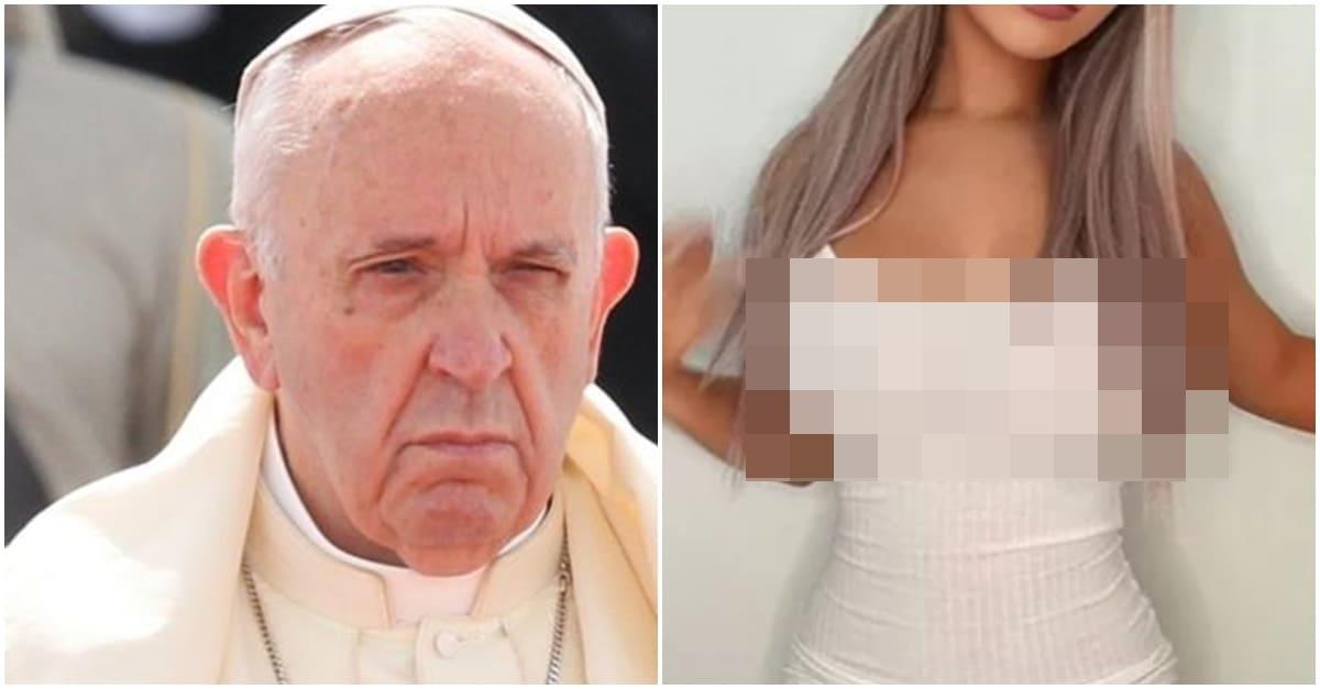 프란치스코 교황이 좋아요 눌렀다는 여성 모델의 정체 (+반전)