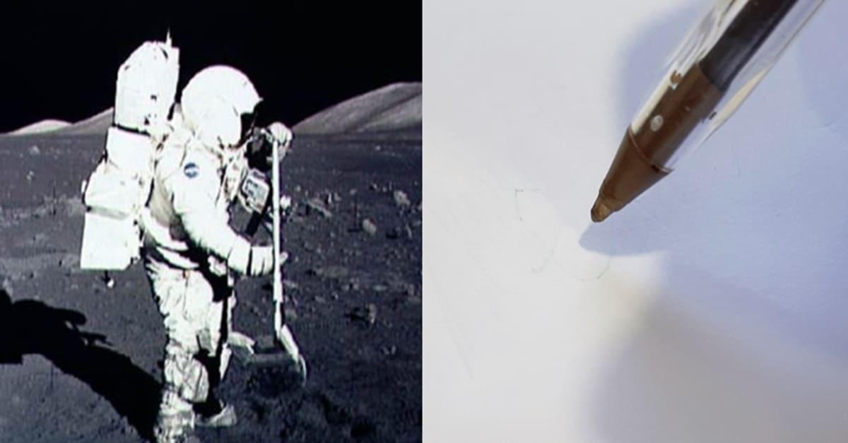 우주에서 볼펜을 사용할 수 없는 이유