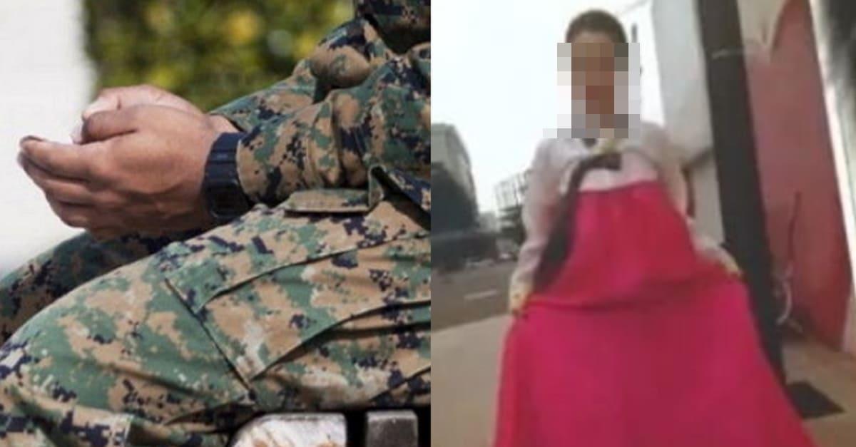 군대 간 남친에게 여친이 보낸 소름끼치는 사진 (+반전)