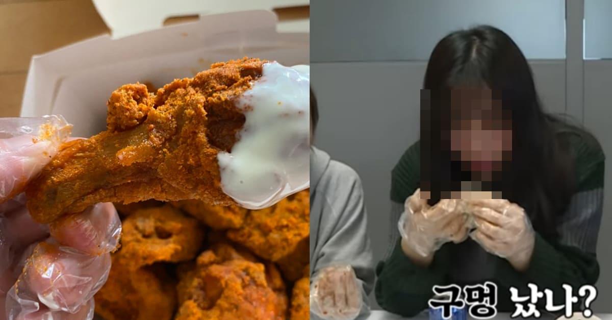 치킨 먹을때 아무리 비닐장갑껴도 기름 묻는 원리
