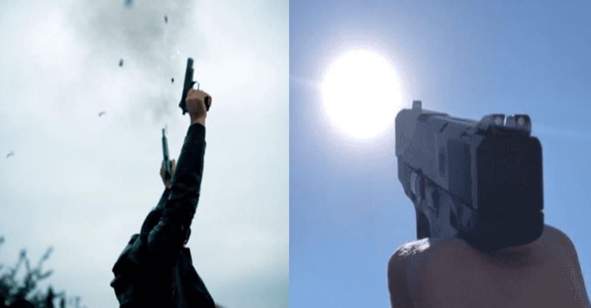 영화처럼 하늘 위로 총을 발사할 경우 실제 벌어지는 상황