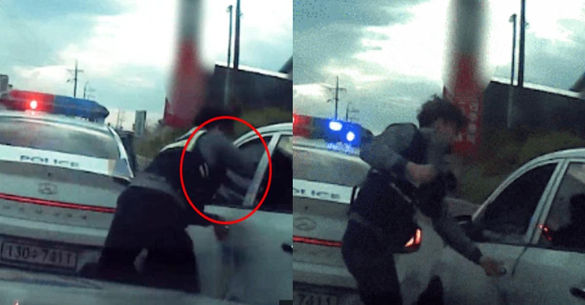진심으로 빡친 경찰이 도주하는 범인 잡은 방법 (+영상)