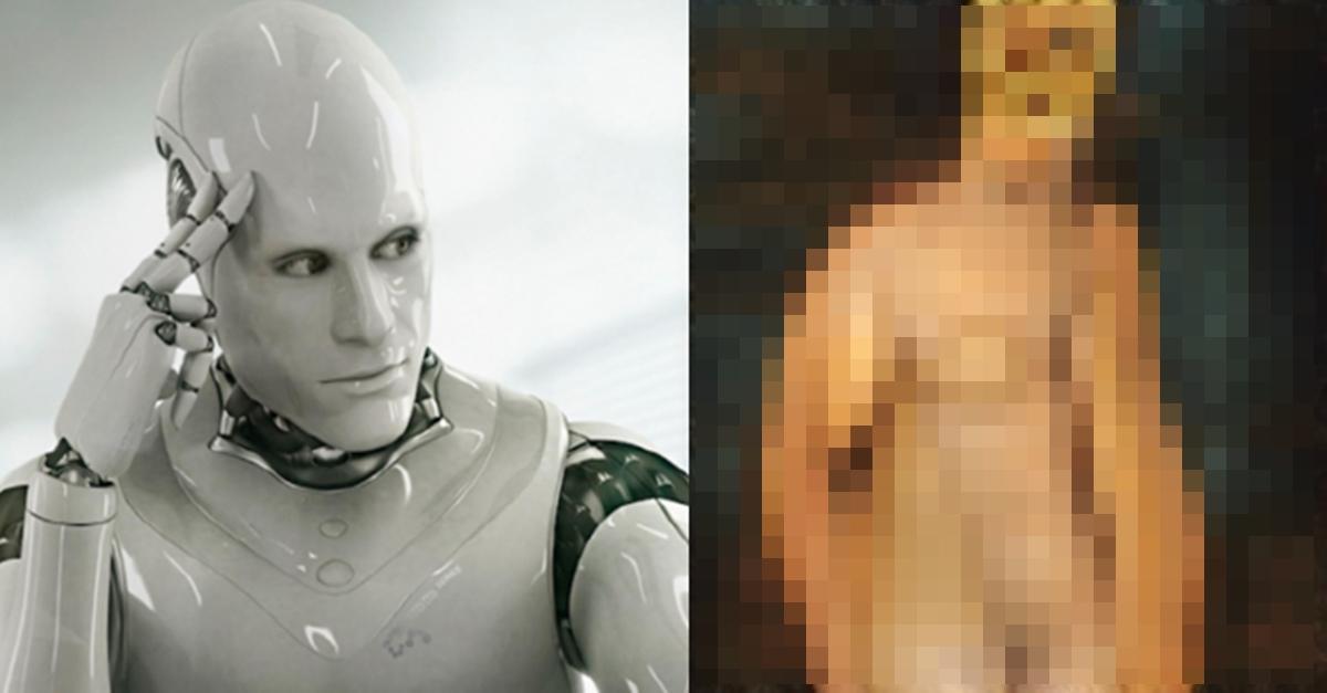 AI가 그린 여성의 나.체 모습
