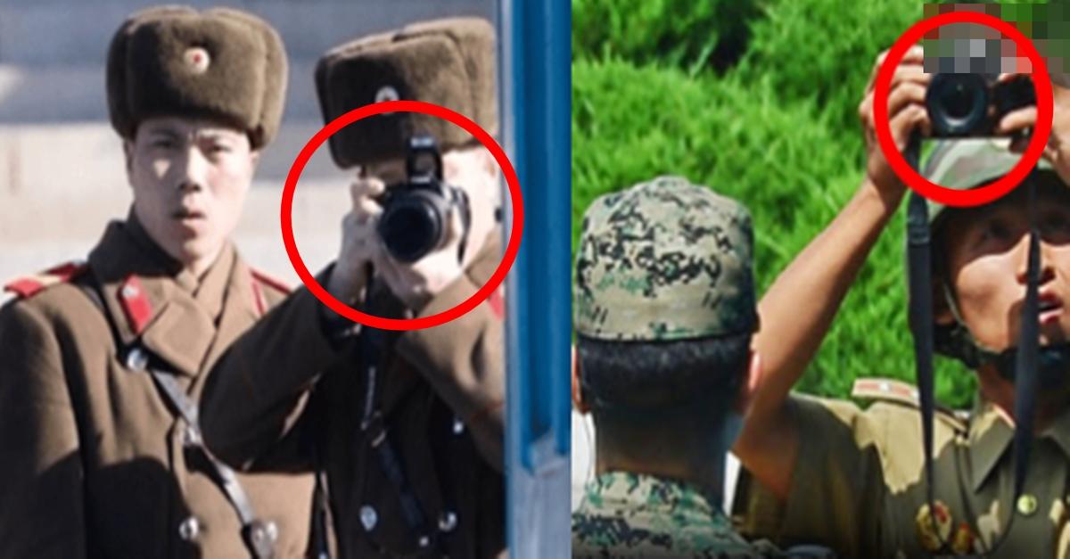 최전방 북한 군인들이 대놓고 한국 군인 사진 찍는 이유