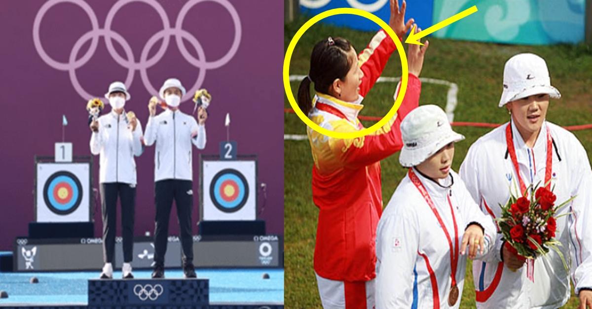한국 양궁이 금메달 휩쓸고 있는데 오히려 중국이 망신 당하고 있는 이유