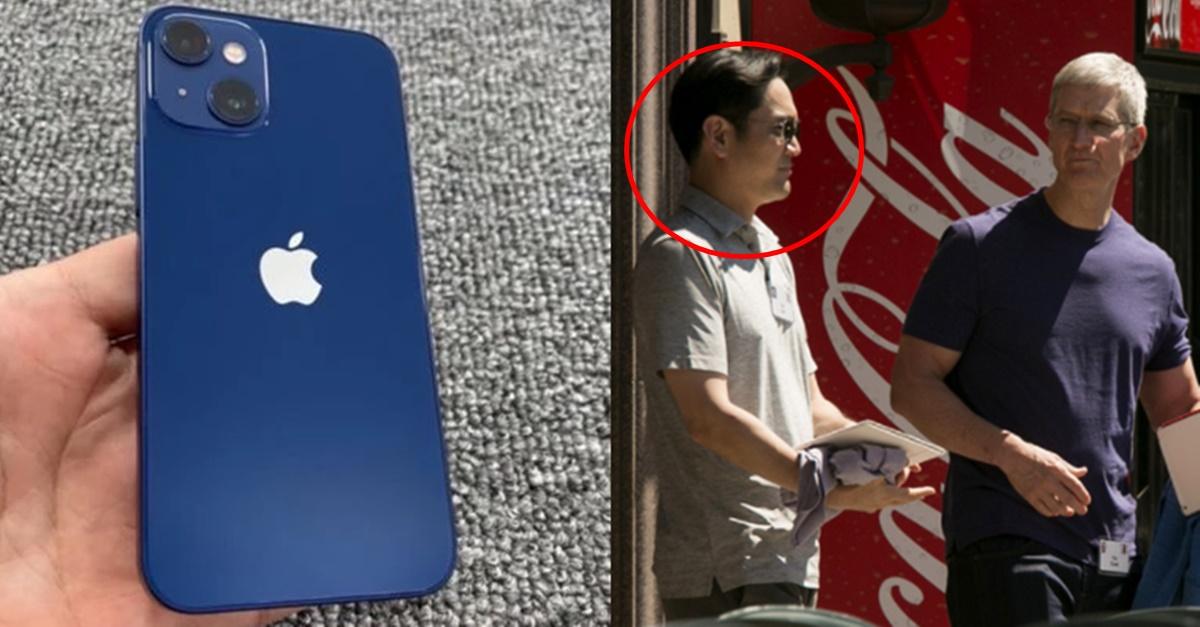 """""""당신들 제품은.."""" 애플 아이폰13 출시하자 삼성이 실제 보인 반응"""